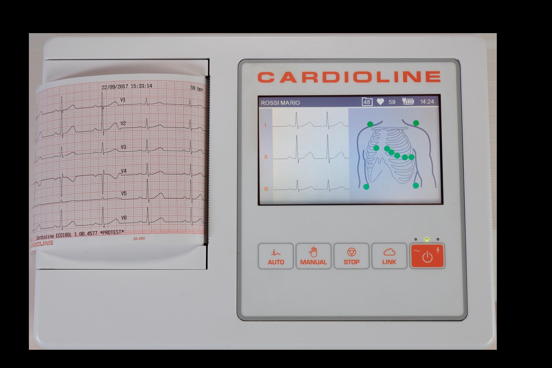 Přímopíšící EKG ECG100L