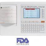Přímopíšící EKG Cardioline ECG100