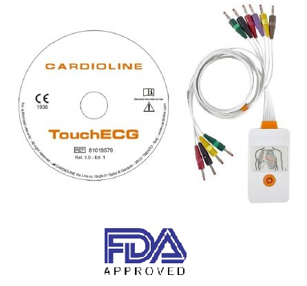 Počítačové EKG TouchECG HD+